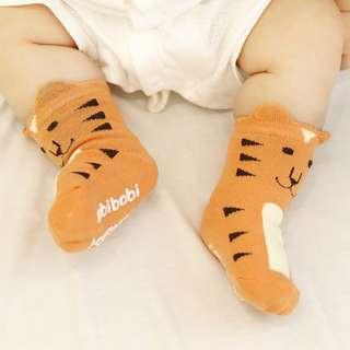 3 Pairs Tiger Baby Socks Small Animal Cartoon