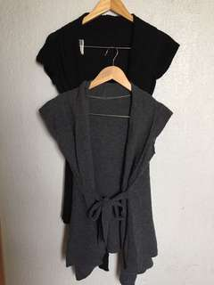 Long Cardigan, set of 2, for travel