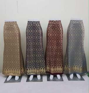 Skirt songket thai