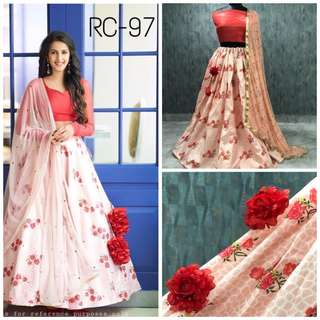 Rosy Rose Lehengha
