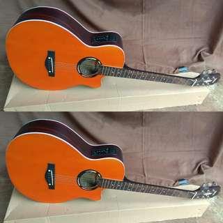 Gitar akustik elektrik oren apx
