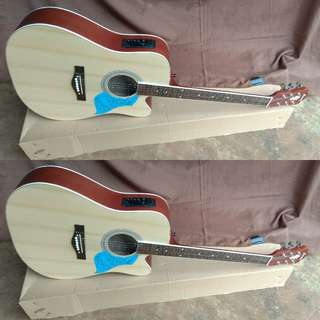 Gitar jumbo akustik elektrik maturale