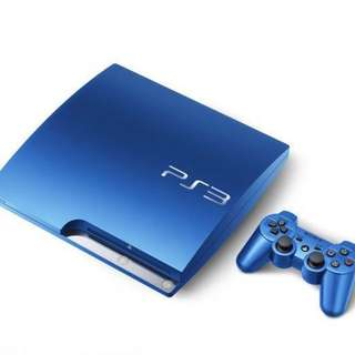 Playstation 3 (Limited Edition Blue)