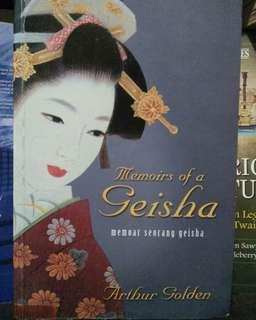 Novel Langka Memoirs of Geisha