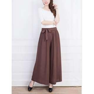 87431 Trendy Pleated Loose Pants