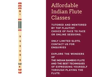 Indian Flute Lessons / Bamboo Flute