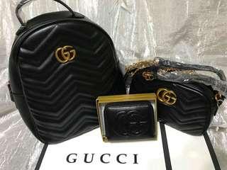 Black gucci bundle