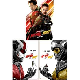 ANT-MAN & WASP MOVIE POSTERS