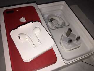 ( NEW ) IPHONE 7 PLUS RED RM180 LIMITED STOCK