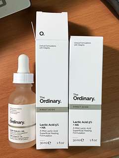 🚚 The ordinary 乳酸5%
