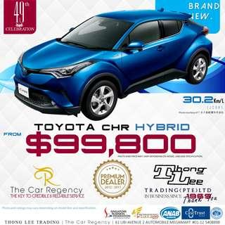 Toyota CHR 1.8 HYBRID ( NEW )( SUV )( HYBRID )( JDM ) ×TAG VEZEL CHR C-HR CH-R HR-V HRV H-RV LUXURY ACTIVE QASHQAI CX-5