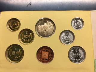 Rare 1983 China official mint coin set- for sharing only