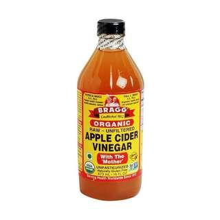 Cuka apel (apple cider vinegar) bragg share in jar 100ml