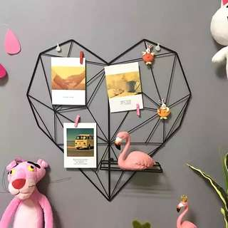 Heart Metal Wire Frame