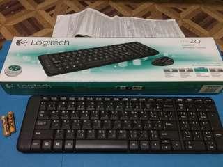 Logitech MK220 Wireless Mouse and Keyboard