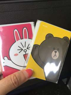 Korean Brown and Cony T Money cards Korean Line Card
