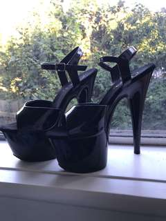 PLEASERS / Black - size 8
