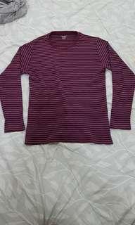 Uniqlo Soft Touch Stripes Ts
