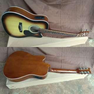 Gitar jumbo elektrik