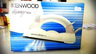 Kenwood discovery duo (Travel iron)