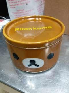 鬆弛熊儲食物瓷碗