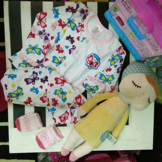 Pyjamas Baby Brand Precious Baby with sock