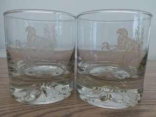 Johnnie Walker Whisky Glasses x 2