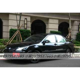 專辦全額貸 零元可交車 2006 三菱汽車 菱帥 1.6 黑色 自排