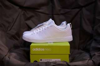 Adidas Neo Adv Clean All White
