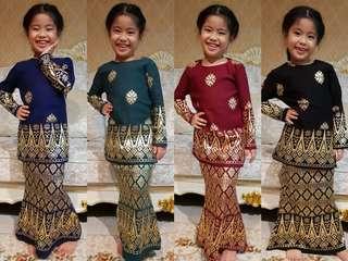 kids thai songket