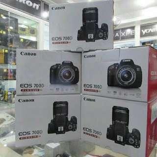 Canon eos 700d body only bisa kredit proses cepat tanpa kartu kredit
