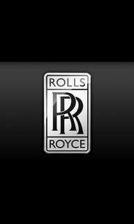 Rolls Royce at your service...