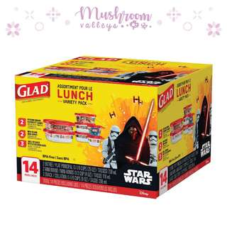 GLAD佳能密實盒 (7個盒連蓋) - Star Wars 特別版
