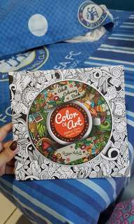 ⚁ [CLEARANCE SALE] Adult Coloring Book Colour of Art ⚁