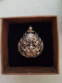 Phra Rahu ring Thai Amulet