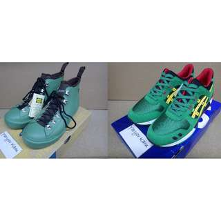 (組合出售)Brand new Danner Wrap Top Pulse D-9108 Vibram/Asics Gel Lyte III H514N 8404 'Carnival' Pack