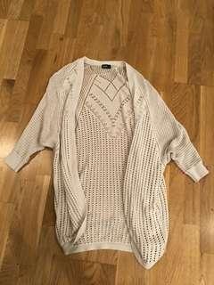 Dotti crochet cardigan