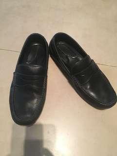 Rockport Men's leather  loafers shoes, black Sz 7.5US