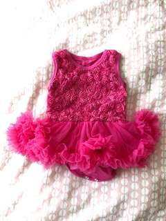 Brand New Baby Girl Dress 0-6mths