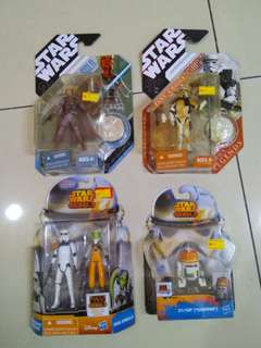 "Star Wars 3.75"" various figures"
