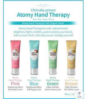 🚚 Atomy Hand Cream moisturiser kit ( 4 tubes x 30ml)