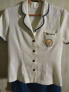 UST senior high school uniform set a
