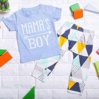 🚚 Instock - 2pc Mama Boy Set