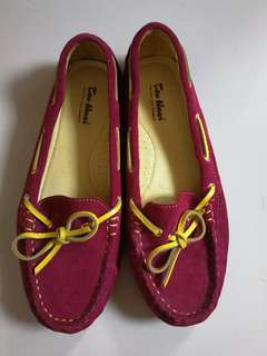 womens suede leather mocassins size