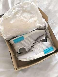 Adidas Cyan Blue R1 Nmd size 7