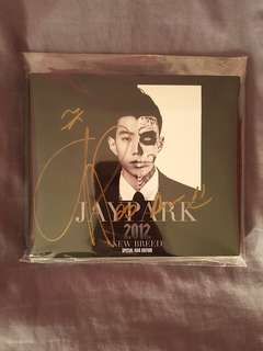 SIGNED Jay Park Official New Breed Special Asia Edition Album