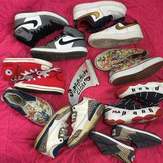 Kiddos branded shoes