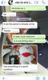 FEEDBACK FROM CUST TROUGH WS