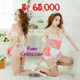 Lingetie kostum maid premium (PCT021) By AMORCOLLECTION