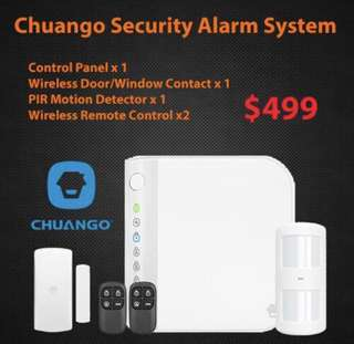 Chuango Security Alarm Wireless with installation